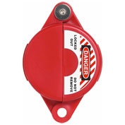 "ABUS V303 Gate Valve Lockout, 1 - 2.5""  Diameter, Red, 00362 - Pkg Qty 8"