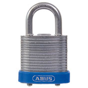 ABUS Eterna Laminated Steel Padlock 41/30 B KA Keyed Alike - Silver 1-1/8""