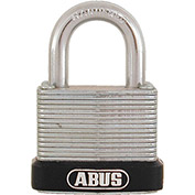 "ABUS Economy Laminated Steel Padlock 45/30 C KD 13/64"" Dia. Shackle - Keyed Different 1-1/8""W - Pkg Qty 3"