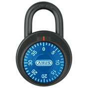 ABUS Combination Dial Padlock 78/50 Blue - Pkg Qty 6