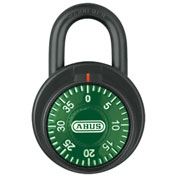 ABUS Combination Dial Padlock 78/50 Green - Pkg Qty 6