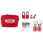 ABUS K900 LOTO Small Zip Pouch Kit - 12 components, 97173 - Pkg Qty 2