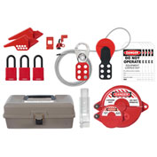 ABUS K930 Electrical, Valve, and Combined Lockout/Tagout Safety Toolbox, 97182
