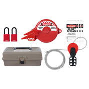 ABUS K940 Valve Lockout Safety Lockout Toolbox Kit, 97184