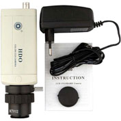 AmScope CCD-NC-LL Low Lux HD CCD Microscope Video Camera For TV