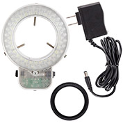 AmScope LED-64S 64-LED Microscope Ring Light with Dimmer