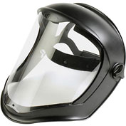 Uvex Bionic™ Face Shield w/ Suspension, S8510, Anti-fog/Hardcoat Visor