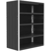 "Valley Craft®  Closed Shelving Kit 48""W x 24""Dx 60""H - 5 Shelf"