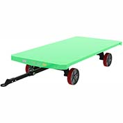 Valley Craft® Pre-Configured Trailer F83995 - 96 x 48 - Poly Wheels - Ring & Pintle