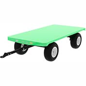 Valley Craft® Pre-Configured Trailer F83997 - 96 x 48 - Pneumatic Wheels - Ring & Pintle