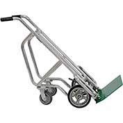 Valley Craft® 4-Wheel Bag & Box Aluminum Hand Truck F84820A7 - Solid Tires & Brakes