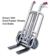 Valley Craft® Aluminum Deep Frame Mini Pallet Truck Penumatic Wheels F84906A