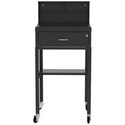Vari-Tuff Open Base Shop Desk with locking drawer