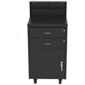 Vari-Tuff 2-Drawer Shop Desk with locking cabinet