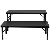 Vari-Tuff Folding Work Table - Steel Top - 48x84