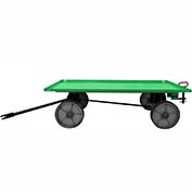 Valley Craft® Light Duty Trailer F89310 - 60 x 36 Lip Up Deck - Mold-On Wheels - Pin & Clevis