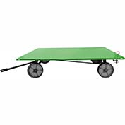 Valley Craft® Light Duty Trailer F89315 - 72 x 48 Flush Deck - Mold-On Wheels - Pin & Clevis