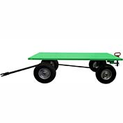 Valley Craft® Light Duty Trailer F89321 - 60 x 36 Flush Deck- Pneumatic Wheels - Pin & Clevis