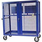 "Valley Craft® F89556B Security Truck 60""L x 30""W x 66""H, Blue"