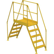 "5 Step Cross Over Ladder - 103-1/2""L"