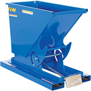 Vestil 1/4 Cu. Yd. Self-Dumping Heavy Duty Steel Hopper with Bump Release D-25-HD 6000 Lb.