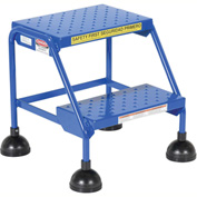 Commercial Rolling Ladder - Perforated - LAD-2-B-P