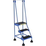 Commercial Rolling Ladder - LAD-3-B