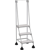 Commercial Rolling Ladder - Perforated - LAD-3-W-P