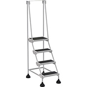 Commercial Rolling Ladder - LAD-4-W
