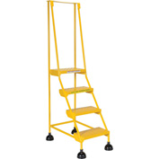 Commercial Rolling Ladder - Perforated - LAD-4-Y-P