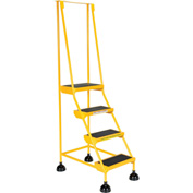 Commercial Rolling Ladder - LAD-4-Y