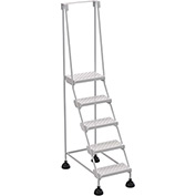 Commercial Rolling Ladder - Perforated - LAD-5-W-P