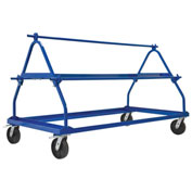 Vestil MSW-72-3 Shrink Wrap Roll Cart, 3 Roll Capacity