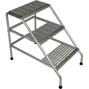 Aluminum Step Stand - 3 Step - Knock-Down - SSA-3-KD