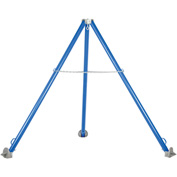 Tripod Hoist Stand - Steel - Adjustable Height Legs