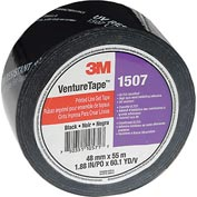 3M™ VentureTape 1507PRTD-Q130 UV Resistant Line Set Tape 2 IN x 60 Yards Black