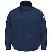 CoolTouch® 2 Flame Resistant Shell Lined Bomber Jacket JMJ8, Navy, Size L Regular