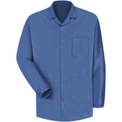 Red Kap® Unisex ESD/Anti-Static Counter Jacket, Electronic Blue, Polyester/Nylon, L