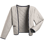 EXCEL FR® Flame Resistant Zip-In / Zip-Out Modaquilt® Liner LML2, Gray, Size L Long