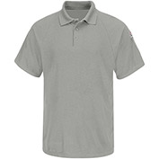 CoolTouch® 2 Flame Resistant Classic Short Sleeve Polo SMP8, Gray, 6.5 oz., Size XL