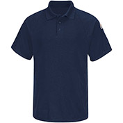 CoolTouch® 2 Flame Resistant Classic Short Sleeve Polo SMP8, Navy, 6.5 oz., Size M