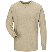 CoolTouch® 2 Flame Resistant Long Sleeve Performance T-Shirt SMT2, Khaki, Size L Regular