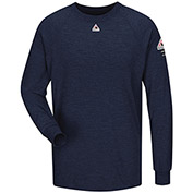 CoolTouch® 2 Flame Resistant Long Sleeve Performance T-Shirt SMT2, Navy, Size M Regular