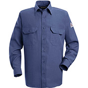 Nomex® IIIA Flame Resistant Uniform Shirt SND2, Gulf Blue, 4.5 oz., Size M Regular