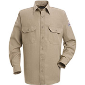 Nomex® IIIA Flame Resistant Uniform Shirt SND2, Tan, 4.5 oz., Size L Long