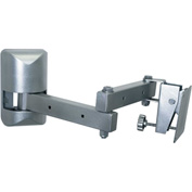 Multi-Configurable Small Flat Panel Articulating Mount - Silver