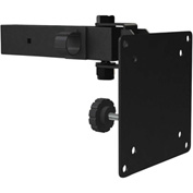 Dual Small Flat Panel Ceiling Mount Adaptor - Black