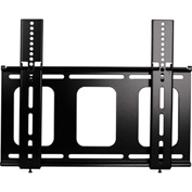Medium Flat Panel Flush Mount - Black