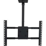 Large Flat Panel Ceiling Mount - Black