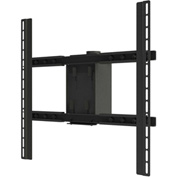 Large Flat Panel Ceiling Mount Head Only - Black